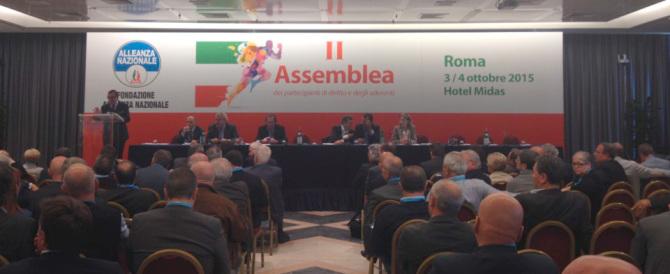 Mugnai all'assemblea della Fondazione: «Promuovere i valori e le idee della destra»