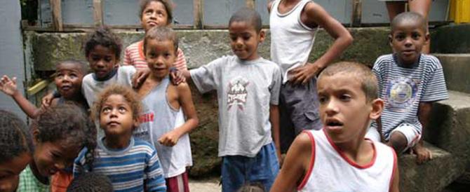 Il Brasile si prepara alle Olimpiadi: spariti centinaia di bambini