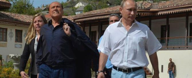 Berlusconi: «La Russia di Putin ha la schiena dritta e lo sta dimostrando»