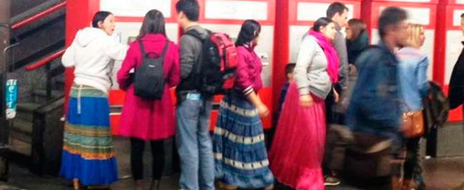 Arrestate tre borseggiatrici rom alla Stazione Termini di Roma. Di nuovo