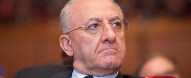 Vincenzo De Luca indagato insieme al giudice che lo salvò dalla decadenza