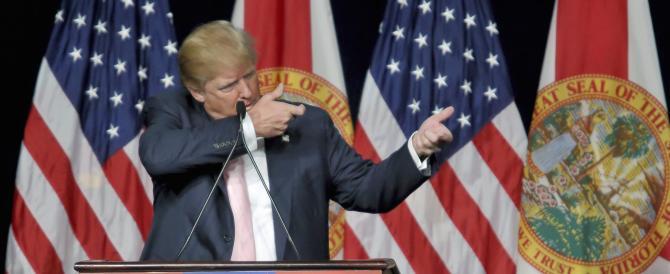 """La """"bomba"""" di Donald Trump: si stava meglio con Saddam e Gheddafi"""