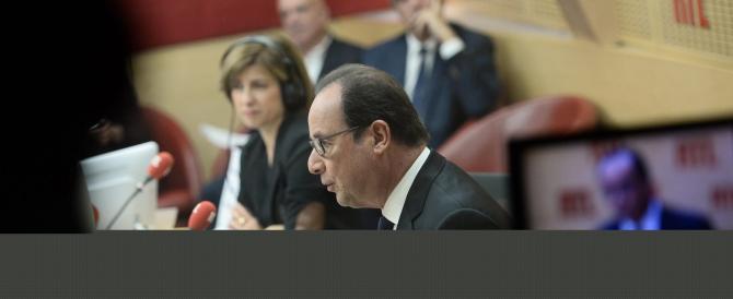 Hollande è disperato e lancia l'ultimo grido: «Vi prego, non votate la Le Pen»