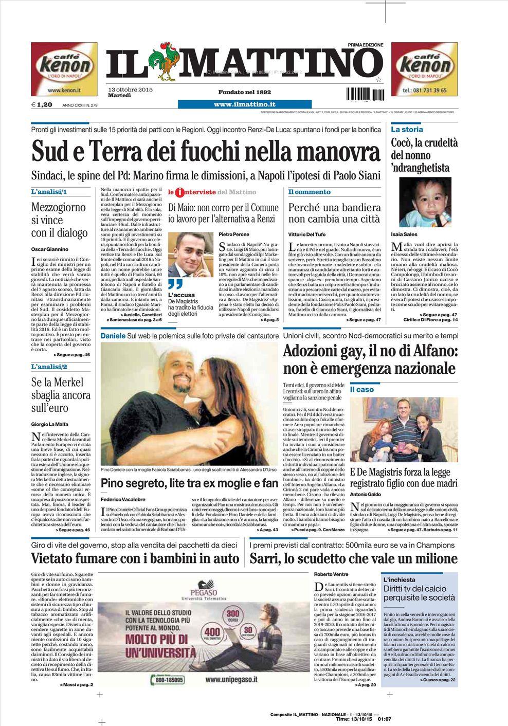 matrimoni omosessuali in italia 2016 La Spezia