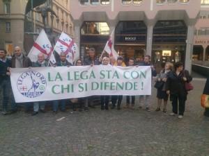 Presidio a Genova