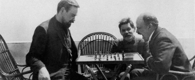 Capri celebra il comunista Lenin. Ma solo come giocatore di scacchi