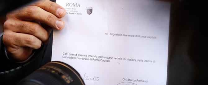 """""""The End"""" per Ignazio Marino. In 25 si dimettono dal Consiglio comunale"""