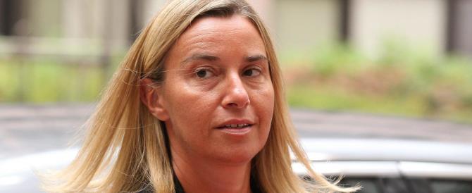 Mogherini: «Non offendiamoci se non ci invitano ai vertici». Tanto c'è lei…