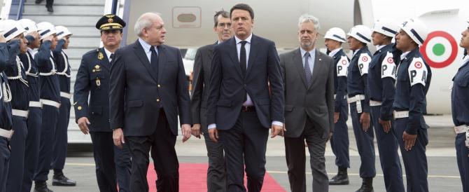 """Renzi dice """"no"""" alla guerra: """"Nessuna iniziativa senza USA e Russia"""""""