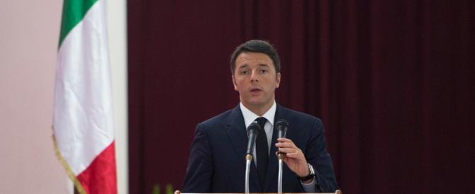 """Renzi deride destra e sinistra: """"Non vogliono la felicità degli italiani"""""""