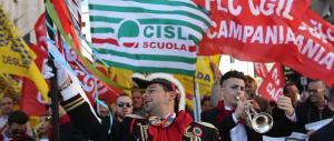 """Il mondo della scuola in piazza in tutta Italia: va in scena il """"protesta day"""""""