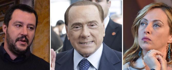 """Salvini, Meloni e Berlusconi uniti fanno paura. Lo dimostra il """"Corsera""""…"""