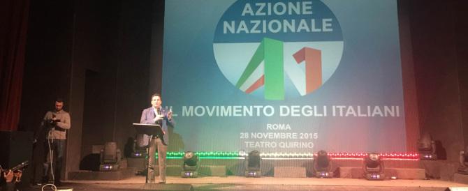 Le iniziative di Azione Nazionale esposte in un documento politico