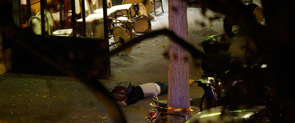 La strage del Bataclan a Parigi
