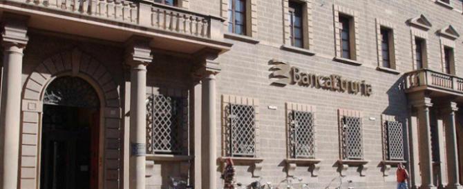 FdI: «Banca Etruria salvata a spese dei risparmiatori. Indaghi la Procura»