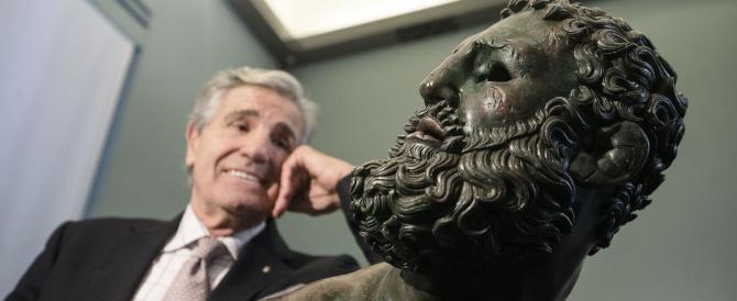 """""""Il Pugilatore"""" torna dall'America. Cerimonia a Roma con Nino Benvenuti"""