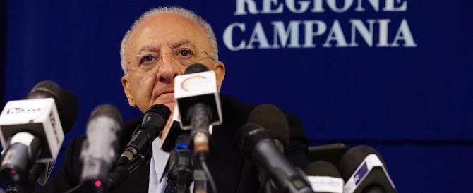 Campania, De Luca nega ma non spiega: «Coinvolto a mia insaputa»