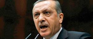 Erdogan fuori di testa: bombarda i siriani e blocca di nuovo la nave Eni