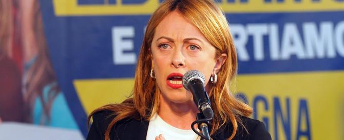 Giorgia Meloni: «L'idea della destra? Gli italiani prima di tutto e tutti»