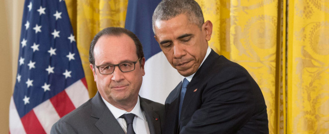 Hollande: «Obama mi ha promesso un aiuto illimitato»