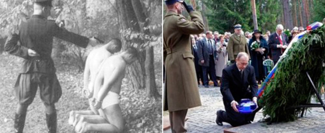 Putin fa i conti con l'Urss: sarà aperto un museo sugli orrori di Katyn