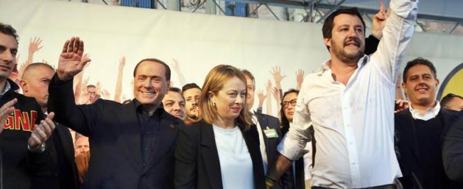 Salvini e Meloni: appello a Berlusconi per l'unità del centrodestra