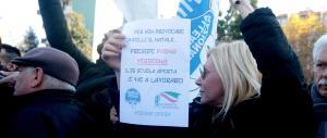 A Rozzano Fratelli d'Italia, Lega e FI con le famiglie: il Natale non si tocca!