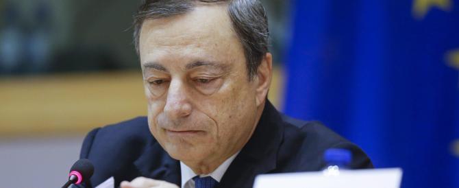 """Draghi: """"La ripresa nella Ue è più lenta del previsto e i rischi sono visibili"""""""