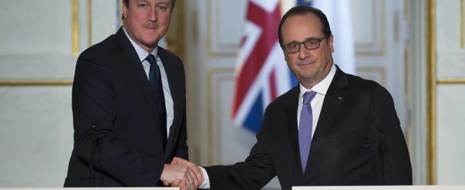 Parigi arruola Londra. Cameron chiede l'ok del Parlamento per i raid in Siria