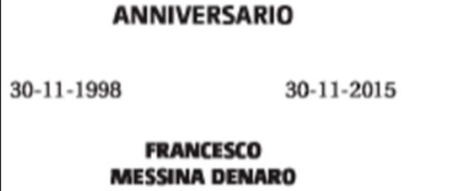 Il boss latitante Messina Denaro si fa vivo con un necrologio per il padre