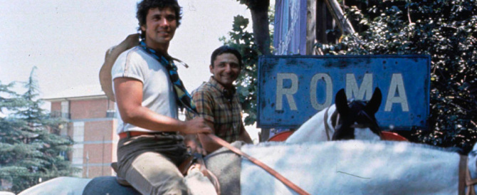 """Torna il """"viaggio di Mogol Battisti"""": Roma-Milano a cavallo e in musica"""
