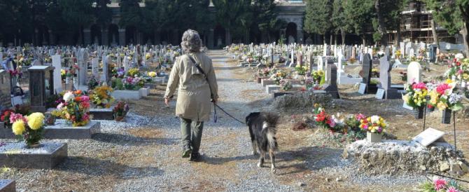 L'ultima bizzarrìa dei sindaci di sinistra: ingresso libero ai cani nei cimiteri