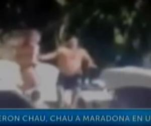 L'ultimo tango di Maradona: cacciato dall'hotel per schiamazzi (Video)