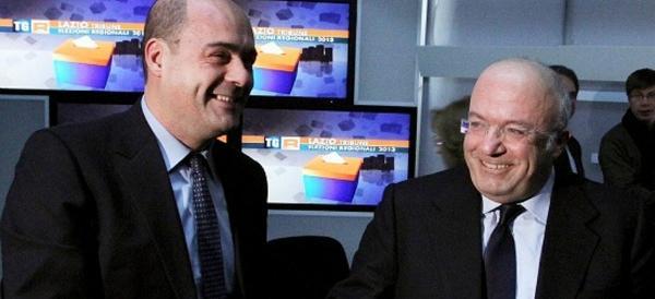 Zingaretti si ricandida, Storace lo sfotte: neanche un miracolo lo salva