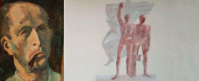 L'Anpi torna alla carica: distruggete quell'affresco col saluto romano