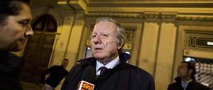 Referendum, Matteoli: «Gli elettori di FI non credono alle bugie di Renzi»