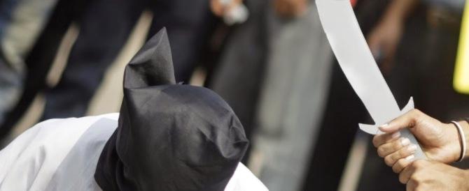 Arabia Saudita, 52 esecuzioni capitali. Ma l'Europa pensa a punire Mosca