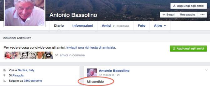 """La """"bomba"""" di Bassolino sul Pd: «Mi candido a Napoli». E la rottamazione?"""