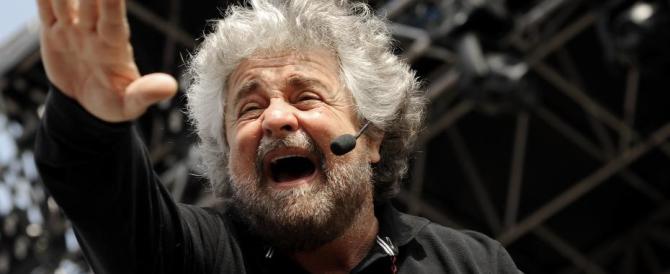 """Beppe Grillo promuove il suo show: """"Se non vinco a Roma, mi do fuoco"""""""