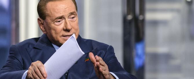 """Berlusconi: """"Ho un programma per vincere. Da Renzi solo mance disgustose"""""""