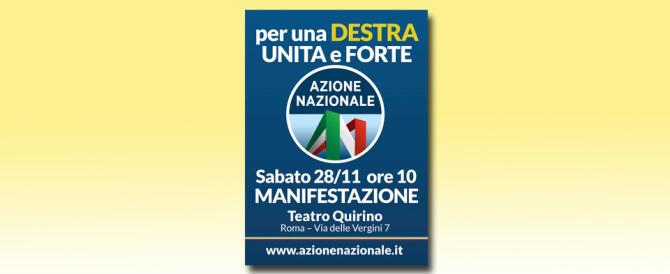 Azione Nazionale, il programma del convegno al Teatro Quirino di Roma