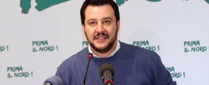 """Salvini: """"Sfiduciamo Renzi. Così vedremo chi è di centrodestra e chi no"""""""