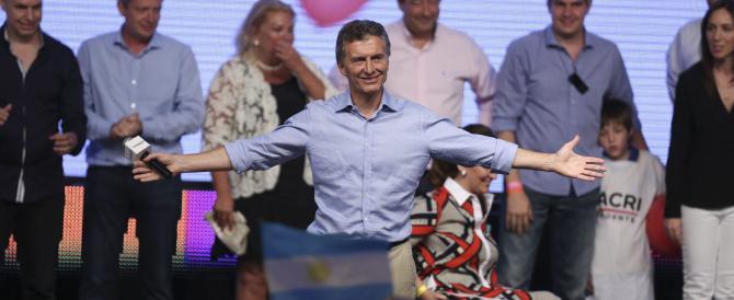 Macri vince la scalata alla Casa Rosada: «Cambieremo l'Argentina»