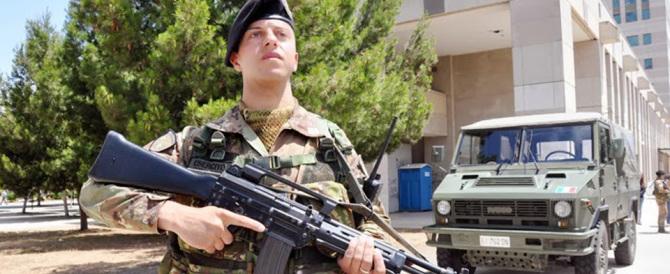 Roma, militari nelle stazioni metro. Alfano: sul territorio 24mila unità