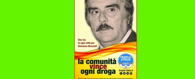 «La comunità vince ogni droga»: FdI chiede vie per Muccioli in ogni città