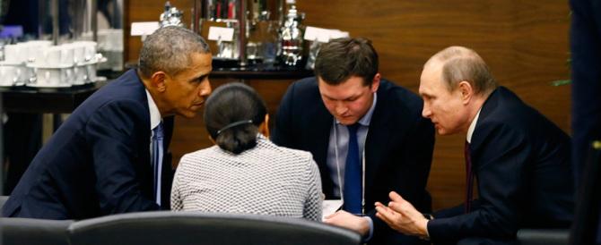 E ora Obama ammette: «Importante l'azione di Putin contro l'Isis»