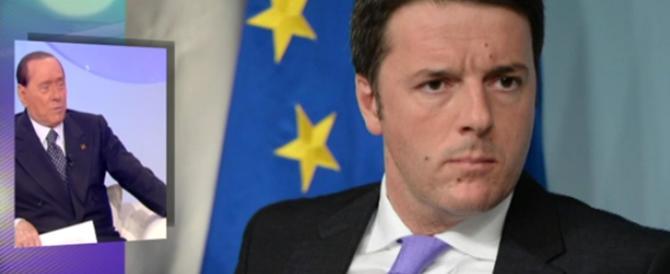 Renzi continua a scopiazzare il Cav. Fra poco dirà anche «mi consenta»
