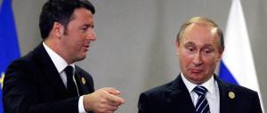 Renzi spudorato: vuole dare lezioni a Putin e a chi vuol chiudere le frontiere