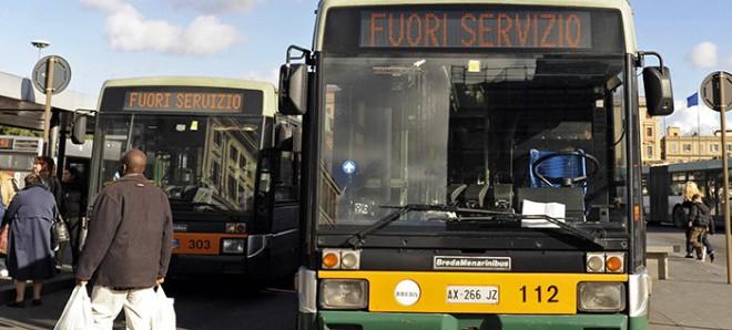 sciopero tpl roma