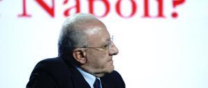 «Basta bugie»: il centrodestra unito per la mozione di sfiducia a De Luca